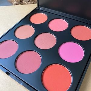 Morphe brushes 9B blush palette makeup